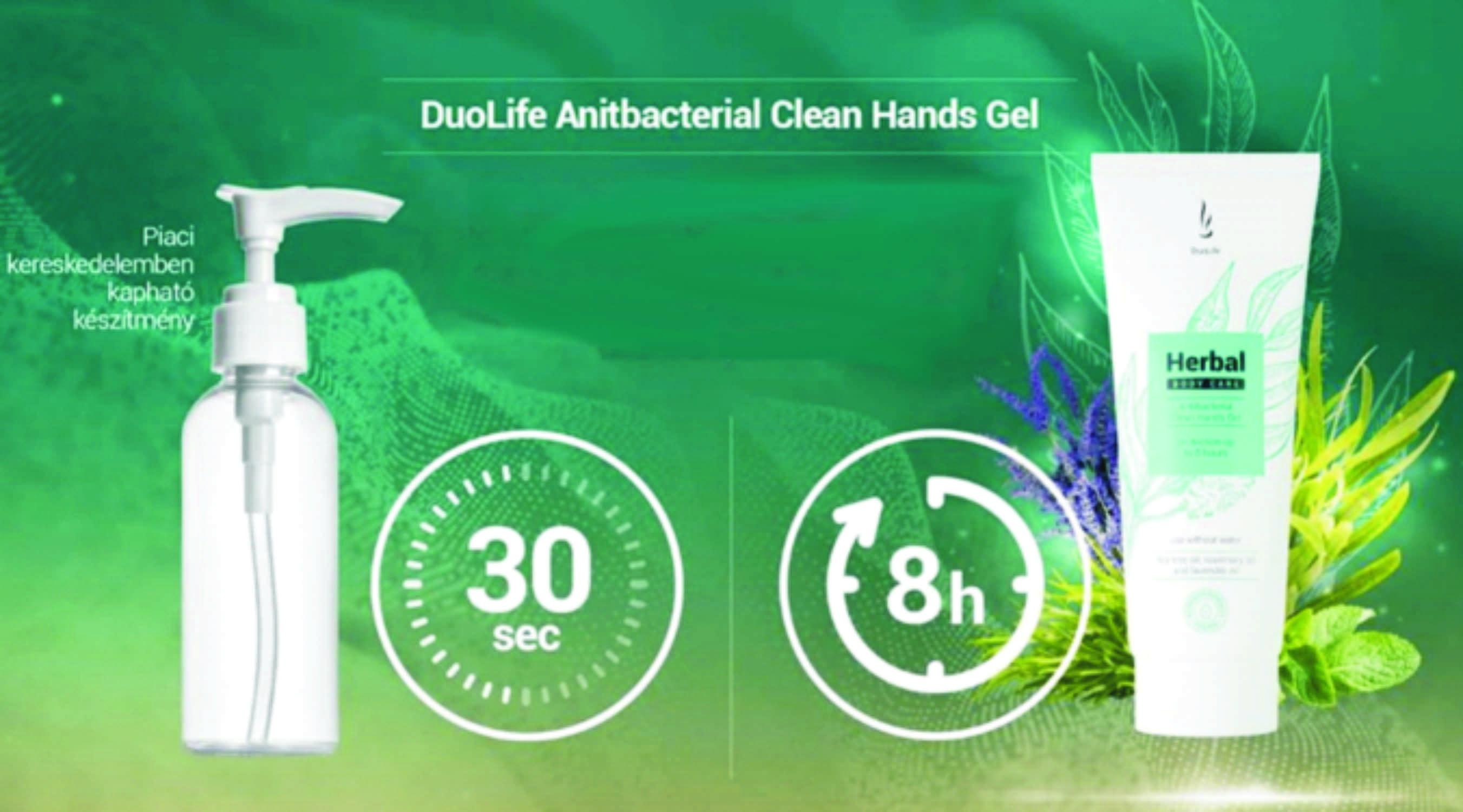 Az antibakteriális kézvédő hatásideje